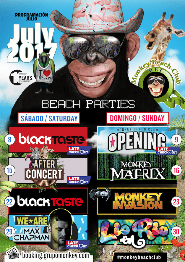 Fiestas-Julio-Monkey-Beach-Club-entradas